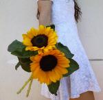 Immagine profilo Instagram di #crisflowerdiary con i suoi girasoli